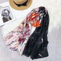 diadema india al por mayor-2018 Summer Sunscreen American y Europe Candy Hot head bufanda chales y bufandas de las mujeres indias damas femeninas pañuelos diadema