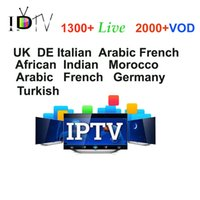 Wholesale French Living - 2000+VOD European Arabic IPTV Account subscription 1 Year Europe French UK Germany Turkish African live channels for android box mag250 m3u