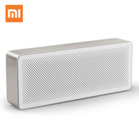 haut-parleur bluetooth box box xiaomi achat en gros de-Original Xiaomi Mi Bluetooth Square Box 2 Stéréo sans fil Mini haut-parleurs portables Musique Lecteur MP3 Bluetooth 4.2