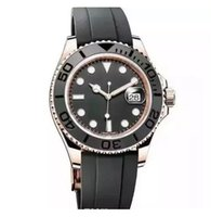 Wholesale men yacht - New luxury watch yacht AAA master Ceramic Bezel Mens Mechanical Stainless Steel Automatic Movement men Watch Sports mens reloj Watch
