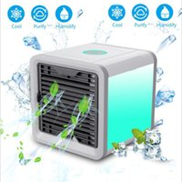 Wholesale original desktops - Original Air Cooler Arctic Air Personal Space Cooler Quick Way to Cool Any Space Air Conditioner for Home Office Desktop Cooling Fan Light