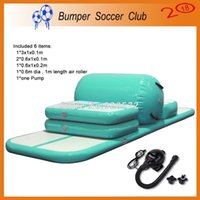 Free Shipping Free Pump Factory Direct Sale Inflatable Tumble Track Trampoline,Air Track Gymnastics ,Inflatable Air Mat