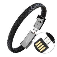 iphone usb bracelet achat en gros de-Câble de chargeur de sport usb câble pour adaptateur de ligne de données de téléphone charge rapide rapide iphone X 8 8 plus Ayfon Samsung S8 fil portable