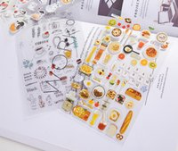 Wholesale Diy Cell Phone Decorations - DIY Pvc Phone Sticker love letter waterproof cap For IPhone All cell mobile Phone diary Album Photo decoration
