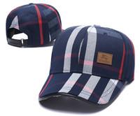 американская футбольная команда синяя оптовых-Логотип бренда решетки мяч шапки мужской дизайнер моды бейсболки Lany Ovo мяч для гольфа Cap La Skate Ball Caps новые Snapbacks мужские папа Hat G0