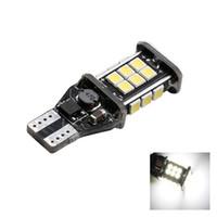 luzes traseiras conduzidas para carros venda por atacado-T15 W16W 3030 24 SMD CANBUS Erro Livre Luzes LED de Backup de Carro Lâmpadas Reversíveis 360 graus Lâmpada de Cauda Branco 12 V