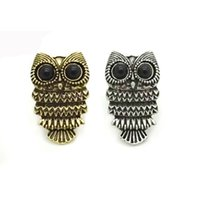 Wholesale Fashion Express - whole salealibaba-express hot sale brass knuckles free shipping fashion zirconia owl adjustable vintage rings gifts for women