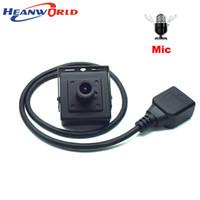 mini hd cámara de micrófono al por mayor-Mini cámara IP 1080P con micrófono CCTV cámara de seguridad micro hogar pequeña cámara HD CCTV cámaras de vigilancia micrófono detección de movimiento