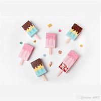 ingrosso cartoni animati di carta-Regali Scatole Originalità Cartone animato Popsicle Forma Candy Fold Carta di qualità Custodia di imballaggio Gelato Bella cassetto regalo Custom Made 0 8hb gg