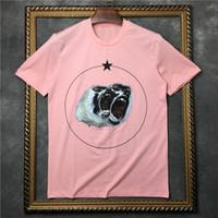 Wholesale roar shirt xl - 2017 new summer men Luxury Brand tide brand clothing short sleeve t-shirt Roar orangutan star Designer tshirt unsex tee cotton tops
