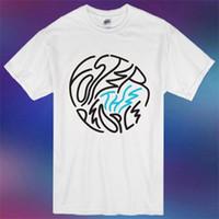 ingrosso ragazzo asiatico-New Foster The People Famous Indie Pop Band Logo T-shirt bianca da uomo Asian Taglia S 3XL O Neck Maniche corte Boy Cotton Men