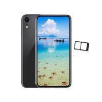 dual sim phone оптовых-Goophone Xr 6,1-дюймовый цветной Android Quad Core 1G RAM 16G ROM Dual SIM 8MP камера 3G WCDMA разблокированные телефоны