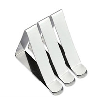 Wholesale table cloth holders for sale - Group buy Stainless Steel Tablecloth Cover Clip Durable Triangle Table Cloth Holder Corrosion Resistant Adjustable Fixed Clamp Sturdy xc BB