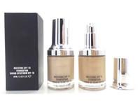 Wholesale best moisturizer creams resale online - Big Discount brand NEW SPF15 FOUNDATION ML best quality M C foundation Colors NC10 MIX ORDER