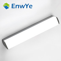 Wholesale wall mirror mount - Modern LED mirror light 12W 16W 22W waterproof wall lamp fixture AC220V 110V Acrylic wall mounted bathroom lighting