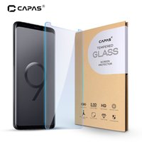Wholesale full lcd screen phone resale online - For Galaxy S9 Screen Protector Tempered Glass for S9 G960F Clear LCD Protective H Film Phone Guard Shockproof