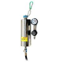 ingrosso pulitore del carburante-AUTOOL C100 Automotive Non smantellamento Sistema di alimentazione iniettore Cleaner Fuel Injector Tester per benzina EFI Throttle C100 Washing Tool