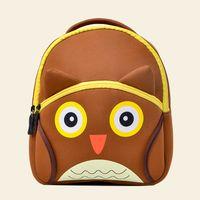 красивые рюкзаки для девочек оптовых-TOCHANG Kids Children's Backpacks 3D Cute Cartoon School Bags Gift Toddler Boys Girls Owl Pretty Bags for 2-4 Years Old