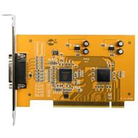 captura de vhs al por mayor-4 canales PCI tarjeta de captura PAL NTSC VHS Adaptador de captura de video DVD DVR Monitor de vigilancia para cámara CCTV para Win XP Vista 7 8