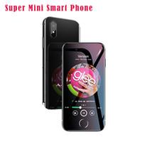 téléphones cellulaires gsm dual core achat en gros de-Anica I8 Mini GSM WCDMA Android Téléphone Mobile Intelligent 2.4