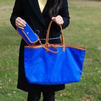 ingrosso borsa della moneta di tela semplice-borsa donna tinta unita in materiale composito tinta unita con borsa piccola in tela moda tote bag DOM816