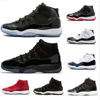 Wholesale shoes basket online - Cap and Gown Prom Night s XI Gym Red Concord PRM Heiress men women Basketball Shoes Cool Grey sports Sneaker