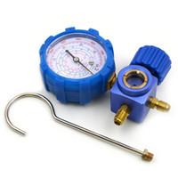 ko groihandel-Autoklimaanlage Niederdruckmanometer mit Kältemittel R134A R12 R404A R410A mit Sichtglas