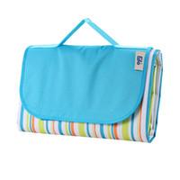outdoor play pad UK - Waterproof Moistureproof Outdoor Picnic Beach Mats Camping Blanket Tarpaulin Baby Play Mat Pad