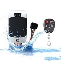 Wholesale car gps online - DHL Fedex Original Waterproof Car Gps Tracker Tk303 g Gps Tracker Car Gps303 GPS303G