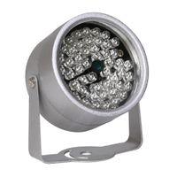 iluminador infrarrojo para cctv al por mayor-CCTV LEDS 48 Iluminador IR Luz IR Infrarroja Visión nocturna Metal Impermeable CCTV Luz de relleno para cámara de vigilancia CCTV