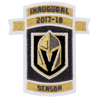 0df00ecef Iron on 2017-18 SEASON Vegas Golden Knights 1st Year Logo Patch Embroidered  Jersey Patch