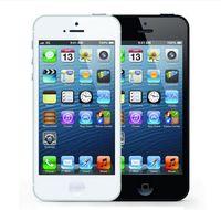 iphone 64gb kilidi toptan satış-Orijinal Apple iPhone 5 A6 iOS 8.0 Çift çekirdekli 16 GB / 32 GB / 64 GB 8MP Yenilenmiş Unlocked Telefon