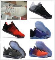 Wholesale Horse Cuts - High Quality Kobe 11 Elite Men Basketball Shoes Kobe 11 Red Horse Oreo Sneakers KB 11 Sports Sneakers Without Shoes Box