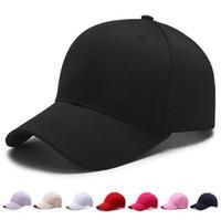 колпачки для бутылок оптовых-Wholsale Марка бейсболка регулируемая папа шляпа установлены мыть ВС шляпы случайные шапки Gorras твердые Поло стиль хип-хоп Snapback для мужчин женщин