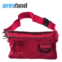 талия мужской пакет оптовых-ARESLANDWaist Bag Women Waist Pack Casual Daily Coin Bag Men Travel Belt Phone Pouch Fanny Pack Ladies Male withSmall D Clip