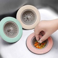 Wholesale Round Bowl Sink - Factory directs Silicone Kitchen Sink Strainer Bathroom Shower Drain Sink Drains Cover sink colander Sewer Hair Filter strainer