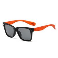 accesorios de gafas para niños al por mayor-Square Sun Glasses Children HD Polarized Plastic Gafas de sol Niños gafas de sol Sun Glass Vocation Accessories WD576