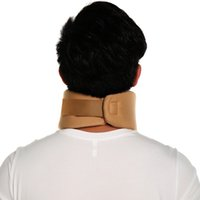 Wholesale Neck Collar Support - New Safety Soft Firm Foam Cotton Cervical Collar Neck Jaw Spine Head Brace Support Shoulder Pain Relief Adjustable Neck Brace