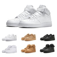 Wholesale women patent shoes online - Classic dunk One all White Black Wheat Men Women Running Shoes Skateboarding Sports Shoes Trainers Causal walking shoe Sneakers us