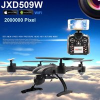 Wholesale jxd rc - JXD 509G JXD509G RC Quadcopter Drone 5.8G FPV With 2.0MP HD Camera Automatic Air Pressure High Headless Mode One Key Return