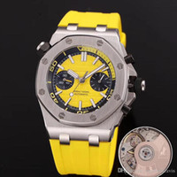 Wholesale import case - New Mens Watch ROYAL Rubber Strap Automatic Imported Mechanical 42mm 316 Delicate Steel Case Men Watches Transparent Back Wristwatch.