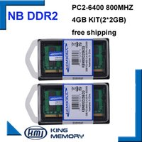 Non-ECC ddr2 notebook - 4GB x2GB PC2 S DDR2 Mhz gb pin DDR2 Laptop Memory G Notebook Module SODIMM RAM