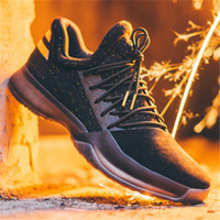 Wholesale hot mens basketball shoes - HOT SALE 2018 New James Harden Vol.1 GS Black History Month BHM Boost Mens Basketball Running Designer Shoes Trainers Sneakers