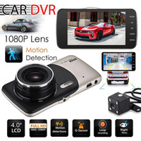 Wholesale rearview sensor camera for sale - 2018 Dual Lens Camera HD Car DVR Dash Cam Video Recorder G Sensor Night Vision Years Warranty H Dispatch Day Money Back