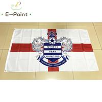 Wholesale queen flag - England Queens Park Rangers FC Type B 3*5ft (90cm*150cm) Polyester EPL flag Banner decoration flying home & garden flag Festive gifts
