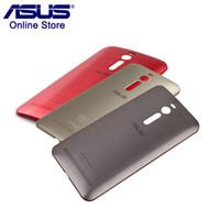 rückseitige abdeckung nfc großhandel-Original ASUS Telefonkasten Zenfone 2 ZE551ML ZE550ML Rückseitige Abdeckung Fall Rückseitige Batterieabdeckung Ersatz mit Einschaltknopf Z00AD NFC