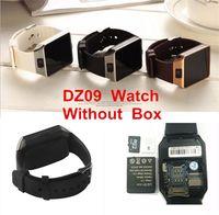 chamando relógio inteligente venda por atacado-Dz09 smart watch para apple android relógio q18 gt08 smartwatch para iphone samsung telefone inteligente com discagem da câmera chamada de resposta passometer sem caixa
