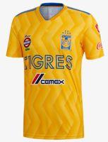 Wholesale valencia football - 2018 2019 TIGRES UANL soccer jersey thai quality home away camisetas VALENCIA Vargas Gignac football shirts