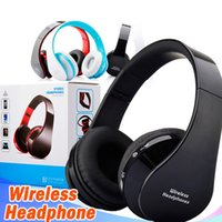 Wholesale bluetooth stereo audio headset resale online - Nx Bluetooth Headphone With Mic Wireless Stereo Audio Mp3 Music Big Portable Headset For phones Android Smartphone