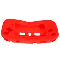 gamepad zum verkauf groihandel-Heißer Verkaufs-Silikon-Silikon-Kasten-Abdeckungs-Haut-Schutz für Nintendo Wii U GamePad-Prüfer